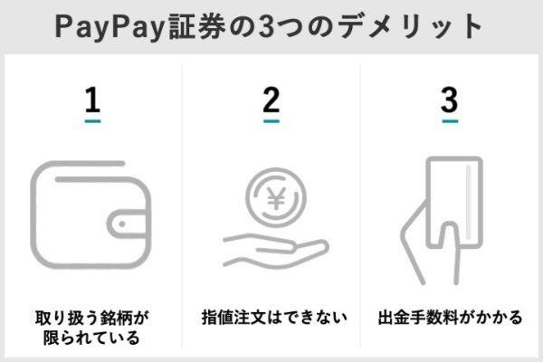 11.PayPay証券のメリット・デメリットは?