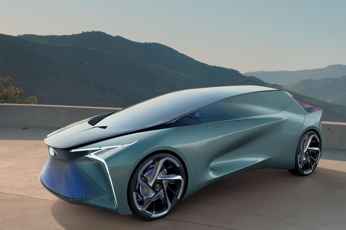 レクサスの未来の象徴「LF-30 Electrified」 高級EV車が当たり前の時代 ...